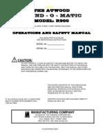 Manual R900
