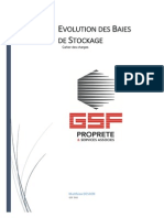 Projet Evolution Baies Stockage