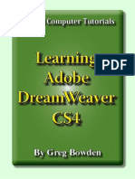 Learning Adobe DreamWeaver CS4 - Introduction