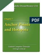 Learning Adobe DreamWeaver CS4 - Anchor Points