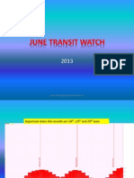 June Transit Watch
