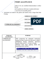 pattern allowances.ppt