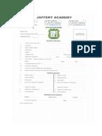 jaffery application form