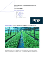 Determination of Water based extraction of Antipyretic  properties from  Aquilaria Subintegra Spp.docx