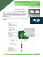 Especificaciones Datasheet Sensor de Humedad y Temperatura EE160