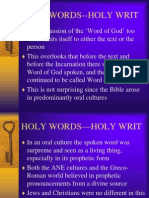 Holy Words.ppt