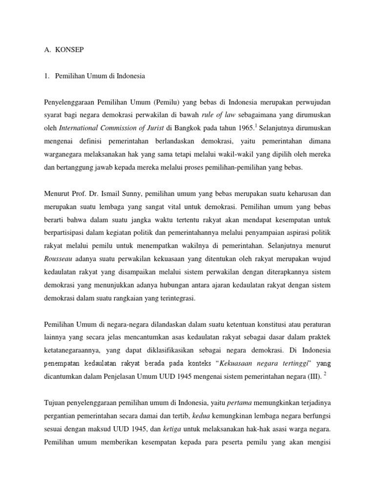 90599926 makalah pemilu pdf