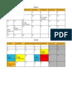 Calendario Final