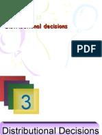 Distributional Decisions