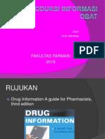 Pengenalan Konsep Informasi Medikasi