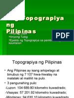 Ang Topograpiya Ng Pilipinas