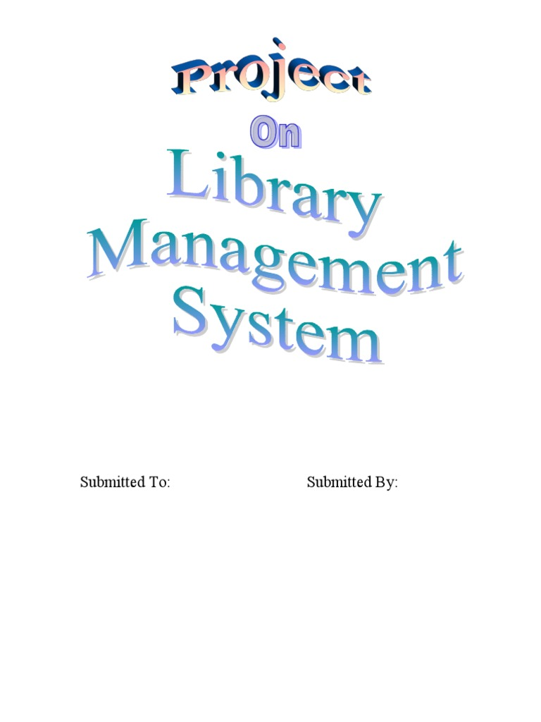 library management system project code in visual basic | Basic
