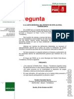 Pregunta - Currito - JMD Este Noviembre 2013