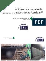 Criterios y soluciones para una limpieza eficaz de la banda transportadora