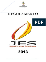 Regulamento Jes 2013