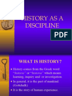 history as a discipline
