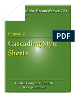 Learning Adobe DreamWeaver CS4 - CSS Styles