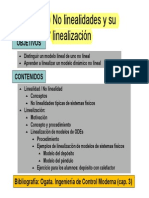 T2.2 No Linealidades y Linealizacion