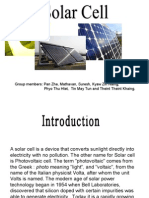 Solar Cell Project