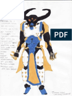 Machina - Superhero Design