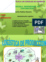 Logistica de Produccion Beckyta
