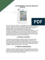 Practica #14 Procesador de Textos Microsoft Word