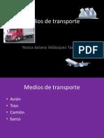 Yesica-medios de Transporte