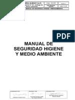 Manual de Seguridad Higiene y Medio Ambiente