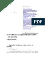 Deparafinarea echipamentului sondelor de extractie.doc