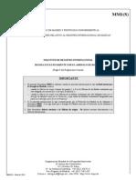 Certificacion de Madrid