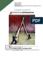 Prontuario (Lc6)_la Matriz Efe y La Matriz Efi