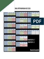JADWAL PERTANDINGAN GVC 2013.docx
