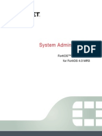 Fortigate System Admin 40 Mr3
