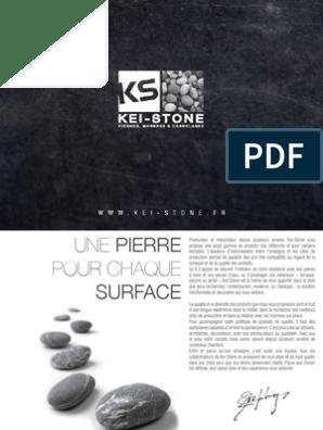Catalogue2014kei Stonewebpdf Marbre Mortier Matériau