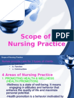 Scope of Nursing Practice
