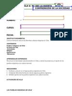 Guía Comp de la soc los indigenas de Chile 2
