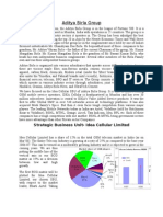 BCG and GE Analysis on Idea Cellular