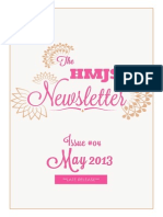 The HMJS Newsletter, Issue #04