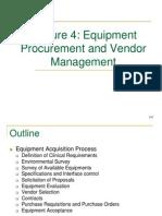 Biopem2Lecture4_Equipment Procurement and Vendor Management_revised.ppt