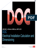 ABB Doc Electrical Installation Calculation and Dimensioning