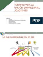 Plataformas para la integración empresarial de aplicaciones
