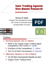 Supply Chain Trading Agents