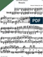 Brahms Piano Sonata No.1
