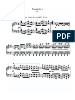 Brahms Piano Sonata No 2