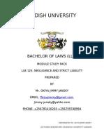 Negligence Law by Okiya