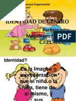 identidad de género para niños