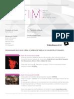 Programme CAFIM 2013 - 2014
