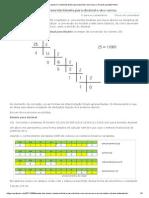 Macete dos alunos II_ Conversão binária para decimal e vice-versa