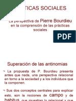 Prácticas Sociales Pierre Bourdieu