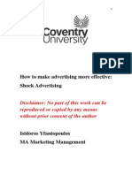 How to make advertising more effective:Shock Advertising